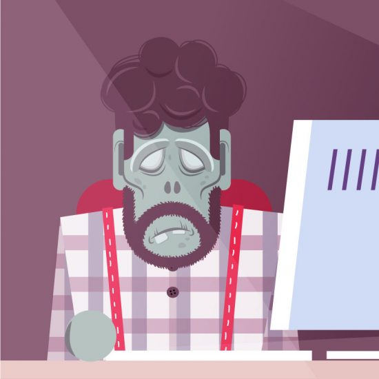 zombie working explainer video